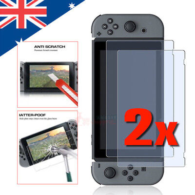 2x Premium Screen Protectors Compatible with Nintendo Switch