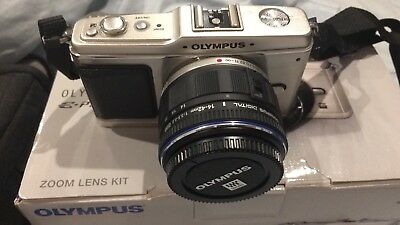 Olympus Pen Digital Camera- Hardly used perfect condition.