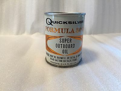 Vintage Quicksilver Outboard Oil Can