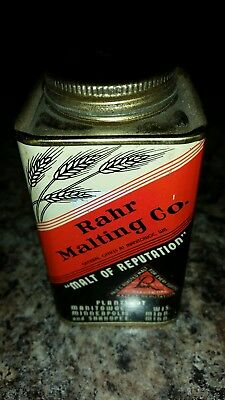 Rahr's Malting Co. Beer Manitowoc Wi. Malt can.