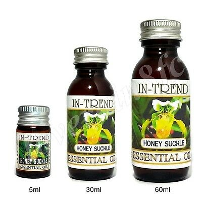 Honeysuckle Essential Oil 100% Pure & Natural 5ml 30ml 60ml Free Shipping