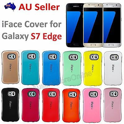 iFace Heavy Duty Shockproof Anti Shock Case Cover for Samsung Galaxy S7 Edge