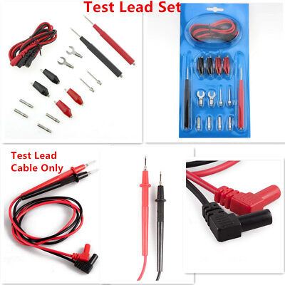 16PCS/Set Multimeter Probe Test Leads&Cable Multifunction Digital Clip Alligator