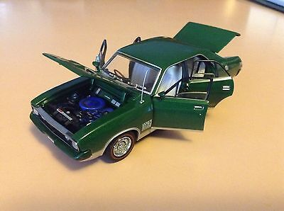 Trax 1/43 Opal Series To-06C 1973 Ford Xb Falcon Gt. Emerald Green.