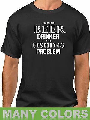 Womens Just Another Beer Drinker With A Camping Problem FITTED T-SHIRT Birthday