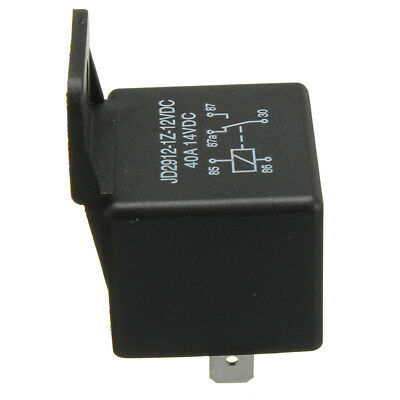 12V Volt 40A AMP 5 Pin Changeover Relay Automotive Car Motorcycle Boat Bike C5Z1