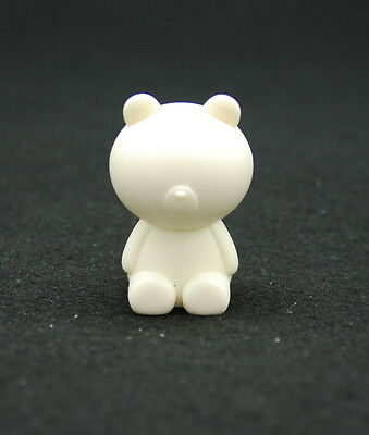2D Bear L Silicone Mold Chocolate Polymer Clay Jewelry Soap Melting Wax Resin