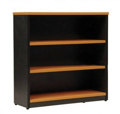 New White Office Commercial Strength Bookcase 90 x 90 cm