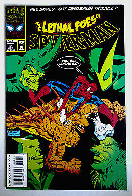 THE LETHAL FOES OF SPIDER-MAN Vol.1 #2: October 1993, Marvel Comics. NM. Unread.