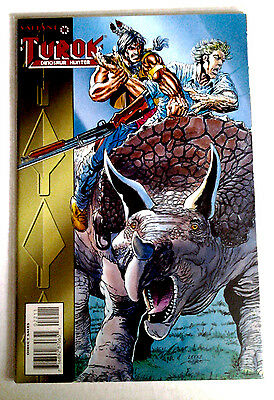TUROK: Dinosaur Hunter #2.  April 1993, Valiant Comics   NM.  Unread.