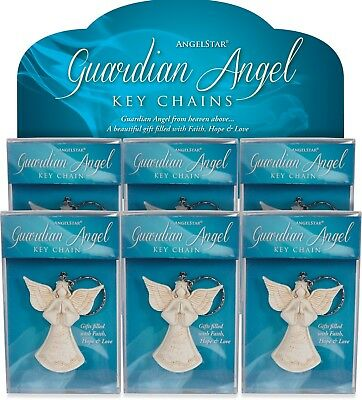 AngelStar Guardian Angels Keyrings 12 Pieces