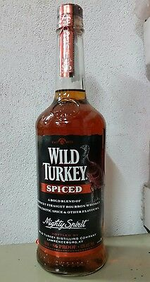 Wild Turkey Spiced 700m *discontinued*Rare*Sealed*