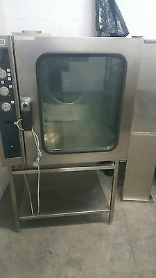 20 Tray Gas Combi Oven Zanussi Excellent Working Condition. Italian Made