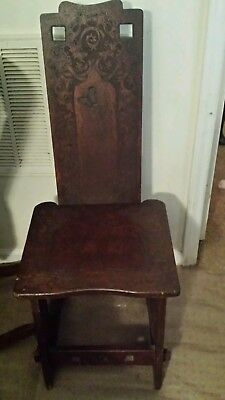 Antique oriental style chair