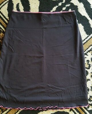 Black soft stretchy GUESS skirt   size M