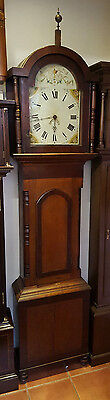 19th Century Oak Grandfather Clock. Delivery Arranged