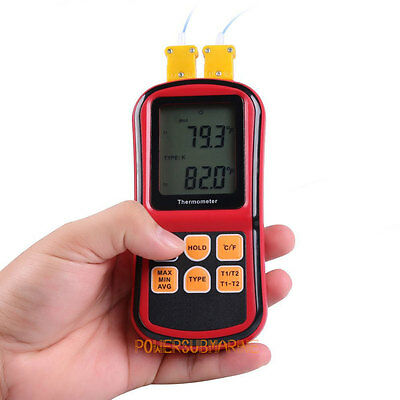 New Portable Digital K Type Thermocouple Thermometer Temperature Measurer Sensor