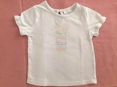 Baby Girls T-shirt Top Size 3-6 Months