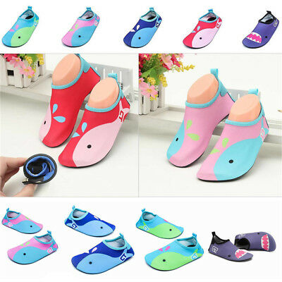 Kids Quick-Dry Water Shoes Lightweight Beach Surf Yoga Pool Barefoot Skin Shoes