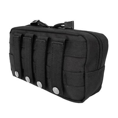 1000D Molle Tactical Military Utility Tool Bag First Aid Pouch Black