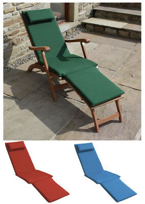 Trueshopping 3 Section Cushion for Steamer Sun Lounger - Choice of 3 Colours
