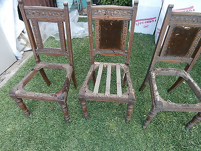 Vintage Dining chairs  x 6
