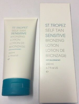 St Tropez Self Tan Sensitive Bronzing Lotion 200Ml