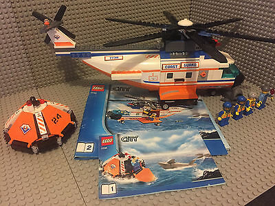 LEGO City Coast Guard Helicopter & Life Raft (#7738)