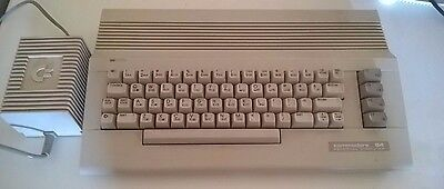 Commodore 64 C Computer and Power Supply