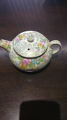 antique old roley teapot made in england