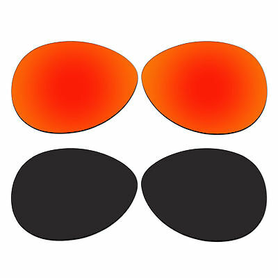 d246fd7c7e 2 Pair Replacement Polarized Lenses for Vacancy Sunglasses OO2014 Pack P1