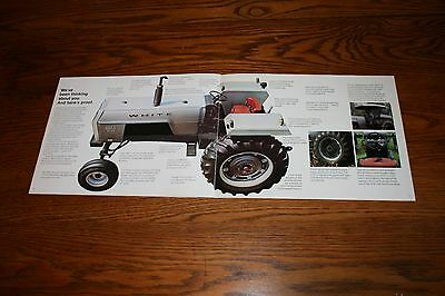 White Field Boss 2 70 Tractors Advertising Sales Brochure