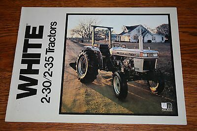 White Field Boss 2 30 & 2 35 Tractors Advertising Sales Brochure