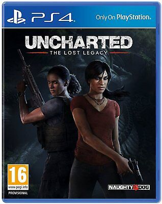 Uncharted: The Lost Legacy | PS4 | NEU & OVP | UNCUT