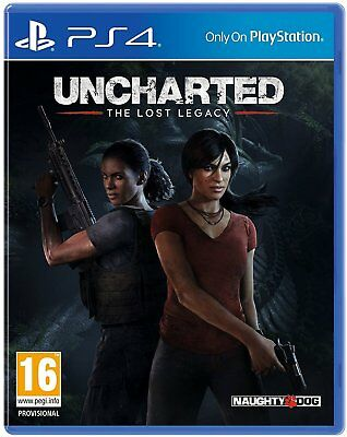 Uncharted: The Lost Legacy inkl. Bonus | PS4 | NEU & OVP | UNCUT | Blitzversand