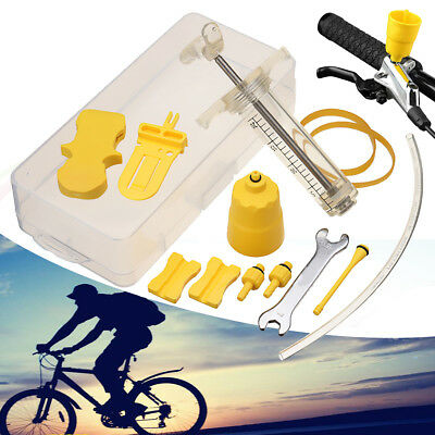 Bicycle Bike Hydraulic Disc Brake Bleed Pro Oil Tool Kit MTB For SHIMANO TEKTRO