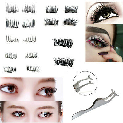 False 3D Magnetic Eyelash Extension Natural Effect Fake Volume Eye Lash Magnet