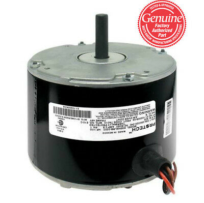 Rheem Ruud Condenser Motor - 1/10 hp (825 rpm/1 speed) 51-102500-05 51-101774-04