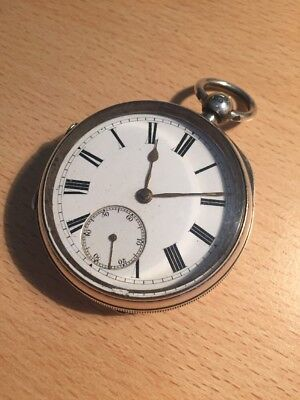 Chester Hall marked Solid Silver Pocket Watch