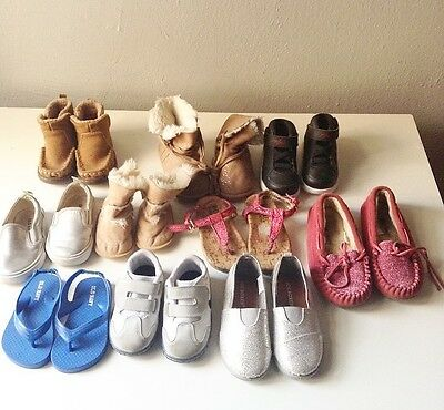 Assorted Lot Kids Baby Shoes Boys Girls  Mixed Sizes