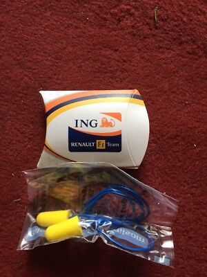 Official Renault F1 Team Ear Plugs
