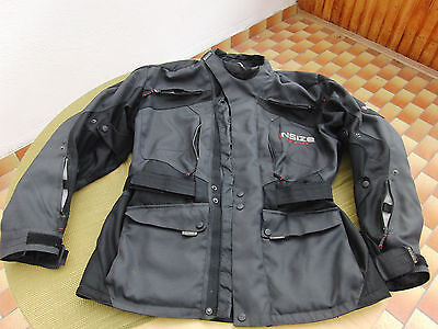 held motorradjacke tourenjacke schwarz gr xl mit protektoren neu eur 49 50 picclick de. Black Bedroom Furniture Sets. Home Design Ideas