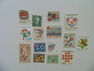 L1802 - Mixed Czechoslovakia Stamps