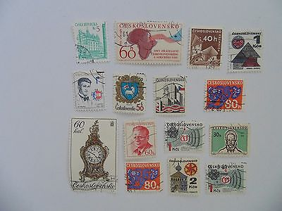 L1804 - Mixed Czechoslovakia Stamps