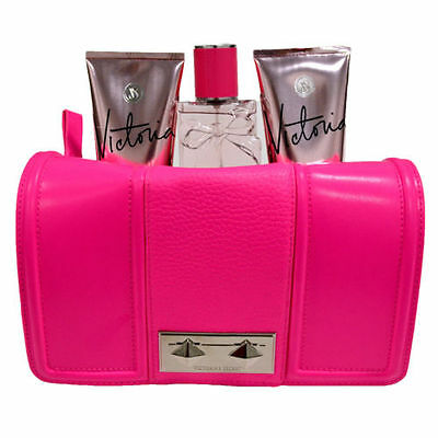 Victoria's Secret Mist Lotion Body Wash 3 pezzi Gift Set Clutch Bag Purse