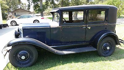 1930 Chevrolet 4 door 4 Door 1930 Chevy Sedan