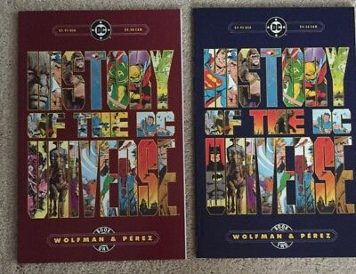 History of the DC Universe 1 2 complete set wolfman perez