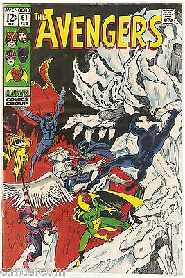 Avengers Vol. 1 (1963-2004) #61 VF- CENTS COPY - DOCTOR STRANGE