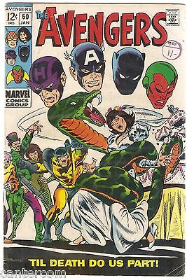 Avengers Vol. 1 (1963-2004) #60 FVF- CENTS COPY