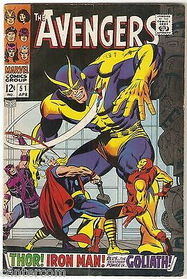 Avengers Vol. 1 (1963-2004) #51 F CENTS COPY